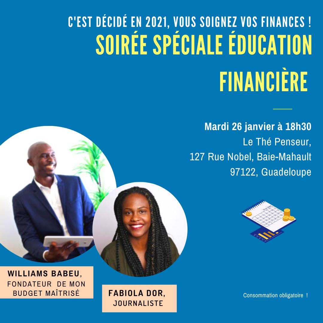 soirée spéciale éducation financière